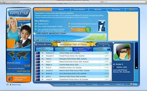 Standard mathletics