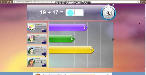 Standard mathletics1