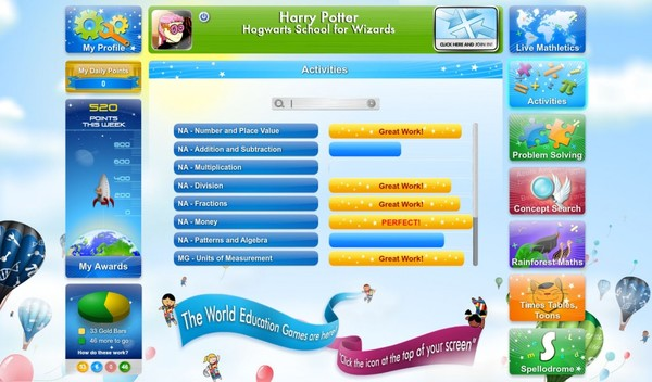 Standard mathletics homepage weg 1024x600