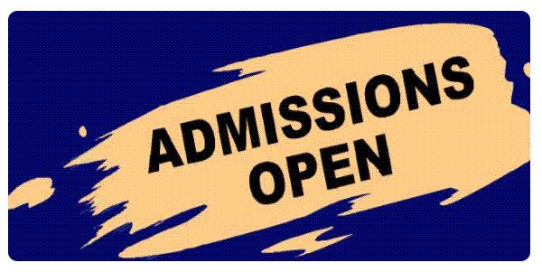 Standard vscmt admissions open 1