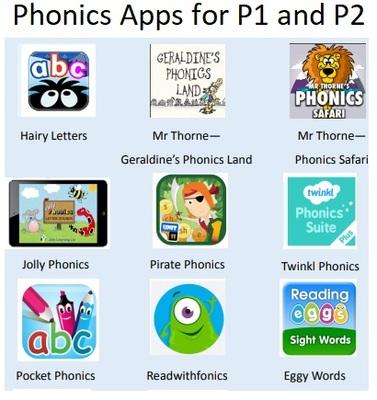 Standard phonics app p1 and p2
