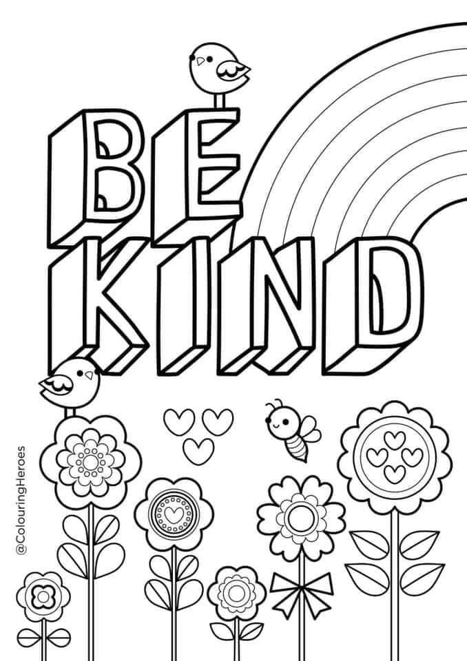 Colouring sheets for Mental Health Awareness Week on the ...